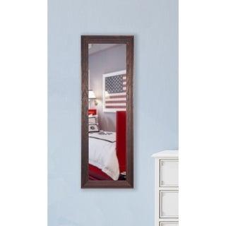 American Made Rayne Barnwood Brown Slender Body Mirror