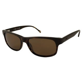 Fossil Men's Ronald Polarized/ Rectangular Sunglasses