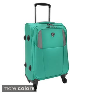 Travelers Choice Forza 22-inch Carry On Ultra Lightweight Spinner Suitcase