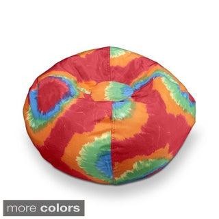 Ace Bayou 96-inch Tye Dye Polyester Bean Bag