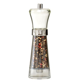 Acrylic Salt Shaker and Pepper Grinder Combo