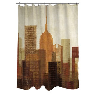 Thumbprintz Summer in the City I Shower Curtain