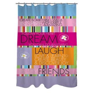 Thumbprintz Create Something Wild Shower Curtain