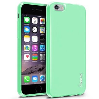 INSTEN Jelly Dust Proof TPU Gel Rubber Phone Case Cover for Apple iPhone 6 4.7-inch