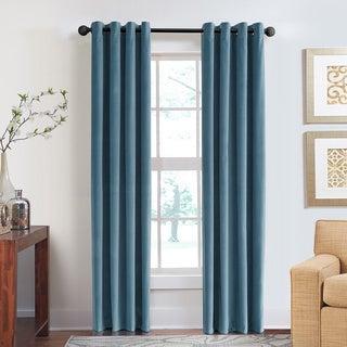 Grand Luxe Velvet Soft Luxury Grommet Top Curtain Panel