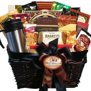 Coffee Connoisseur Gourmet Food Gift Basket