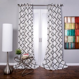 Geometric curtains overstock shopping stylish drapes