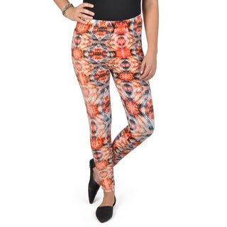 Journee Collection Junior's Soft Printed Leggings