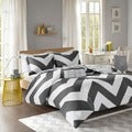 Mi Zone Pisces Reversible 4-PIece Duvet Cover Set