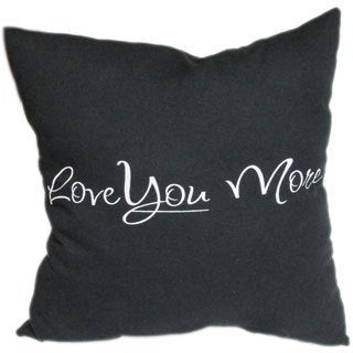 'Love You More' Throw Pillows (Set of 2)