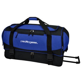 Pacific Gear by Traveler's Choice Gala 30-inch Drop Bottom Rolling Upright Duffel Bag