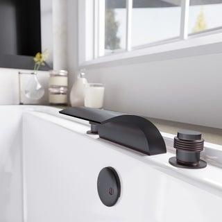 Sir Faucet 719 Brass Roman Tub Filler Bathroom Faucet
