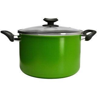 Epoca EEGN-4508 Ecolution Elements 8-quart Green Stock Pot with Glass Lid