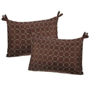 Audubon Embroidered Decorative Throw Pillow (Set of 2)