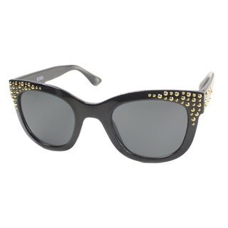 XOXO Women's 'Golden Eye' Cat Eye Sunglasses