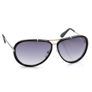 Tom Ford Unisex 'Cyrille TF 109 28W' Aviator Sunglasses