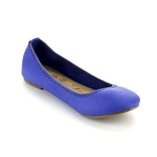 Blossom Women's 'Epson-65' Slip-on Soft Ballet Flats
