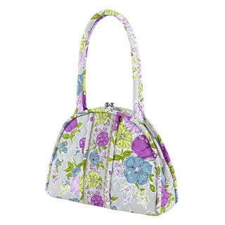 Vera Bradley Eloise Watercolor Satchel