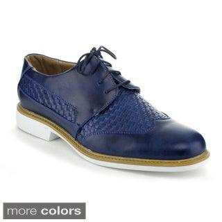 J's Awake Men's 'Eddie-37' Lace-up Oxford Shoes