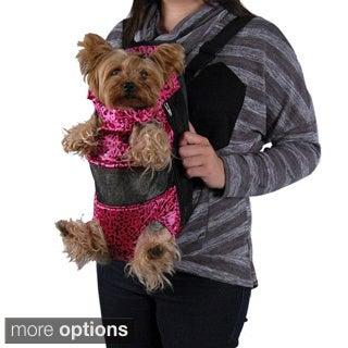 Insten Leopard Front Backpack Pet Carrier