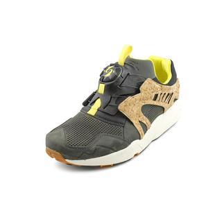 Puma Men's 'Disc Cage Lux Opt.2' Leather Athletic Shoe