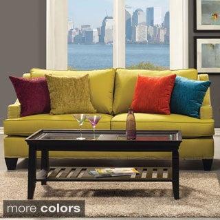 Furniture of America Colorful Tropak Padded Chenille Sofa