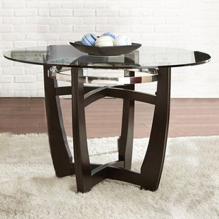 Monoco 48-inch Round Glass Top Table
