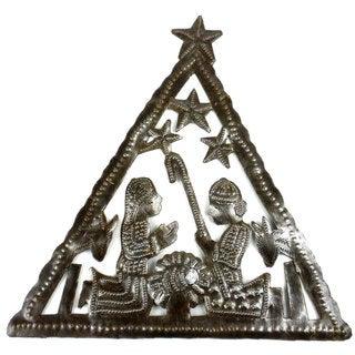 Triangle Nativity Wall Art (Haiti)