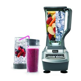 Ninja BL740 1100-watt Professional 3-speed Blender with Single-Serve Cups (Refurbished)