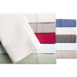 Brielle Egyptian Cotton 400 Thread Count Sateen Sheet or Pillowcase Set