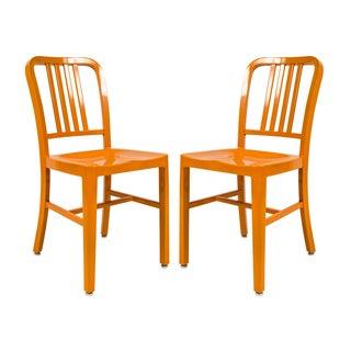 Somette Alton Orange Dining Chair (Set of 2)