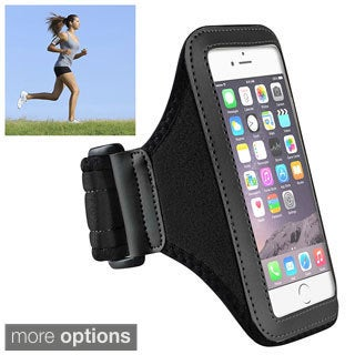 INSTEN Deluxe Vertical Workout Pouch Sport Arm Band for Apple iPhone 6 4.7-inch