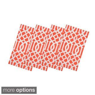 Coral Trellis Table Linens (India)