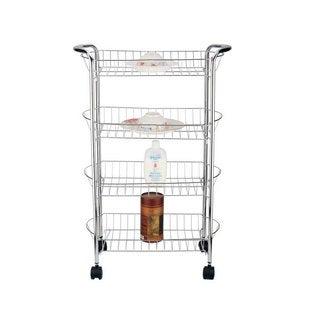 Better Chef 4-tier Metal Storage Cart