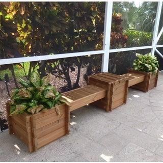 Thermod Contessa Planter Box Bench