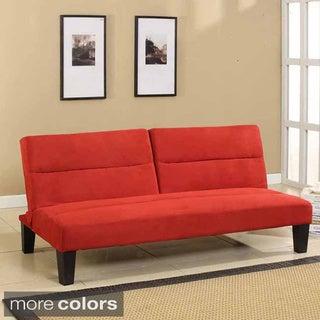 Microfiber Fabric Klik-Klak Sleeper Sofa