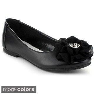 Little Angel Girls 'Enna-739E' Ballet Loafers