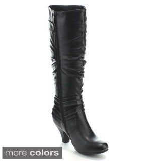 Forever Women's 'Bibi-03' Slouchy Knee-high Boots