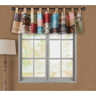 Bohemian Patchwork Window Valance