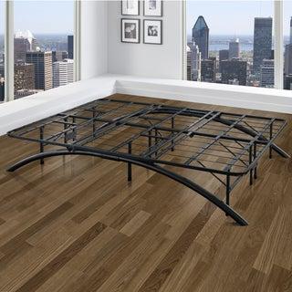 Arch Flex Black Platform Bed Frame