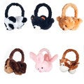 Happy Trails Plush Animal Headphones