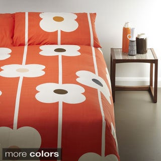 Orla Kiely Large Flower 3-piece Duvet Cover Set