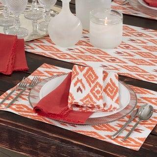 Ikat Design Printed Placemats (Set of 4)