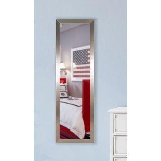 American Made Rayne Silver Petite 19.5 x 58.5 Slender Body Mirror