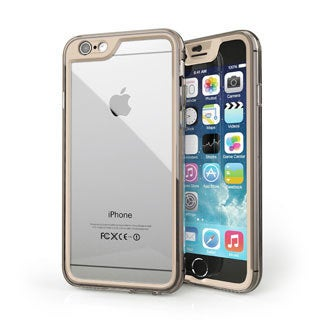 rooCASE Gelledge Premium Hybrid PC and TPU Full Body Case Cover for Apple iPhone 6 4.7-inch