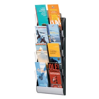 Paperflow Maxi System 4-pocekt Wall Mounted Literature Display