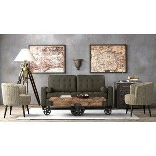 Portfolio Taya Smoky Charcoal Gray SoFast Sofa