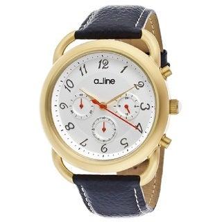 A Line Maya AL-80012-YG-02-BU Silver Watch
