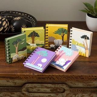 Mr. Ellie Pooh Hand-crafted Dinky Journal Stocking Stuffer (Sri Lanka)