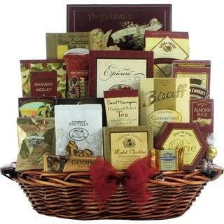 Holiday Finer Things Gourmet Christmas Gift Basket